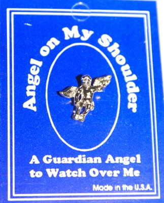 cadeautip Angel on my shoulder, een origineel kado