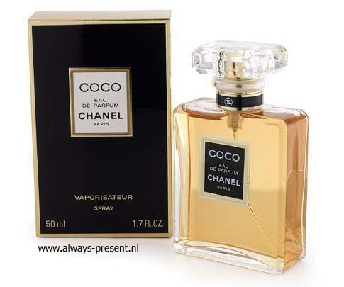 cadeautip Coco Chanel Edp 50 ml spray, een origineel kado