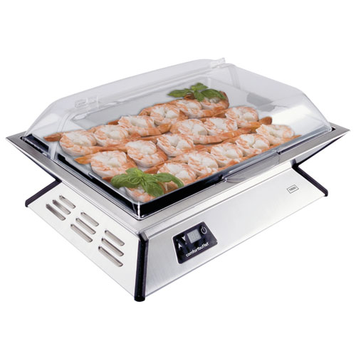cadeautip Comfortbuffet Hot and Cold tray, een origineel kado