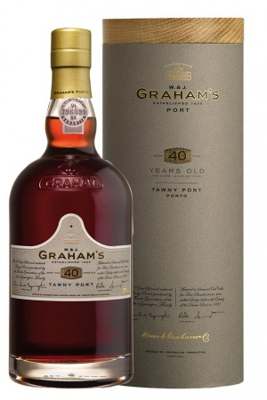 cadeautip Grahams 40 Years Old Tawny Port, een origineel kado