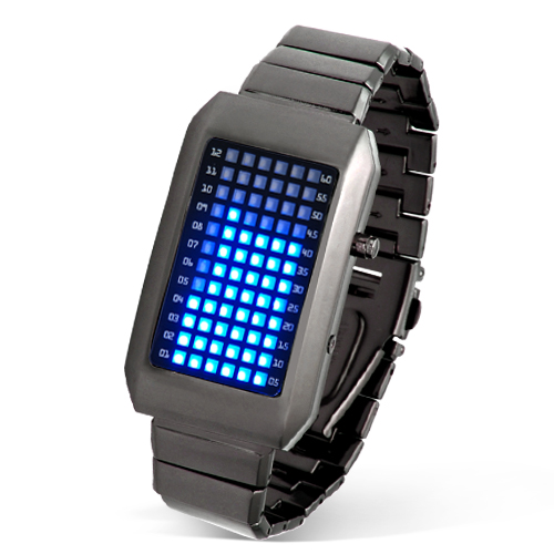 cadeautip LED Watch Pointless, een origineel kado